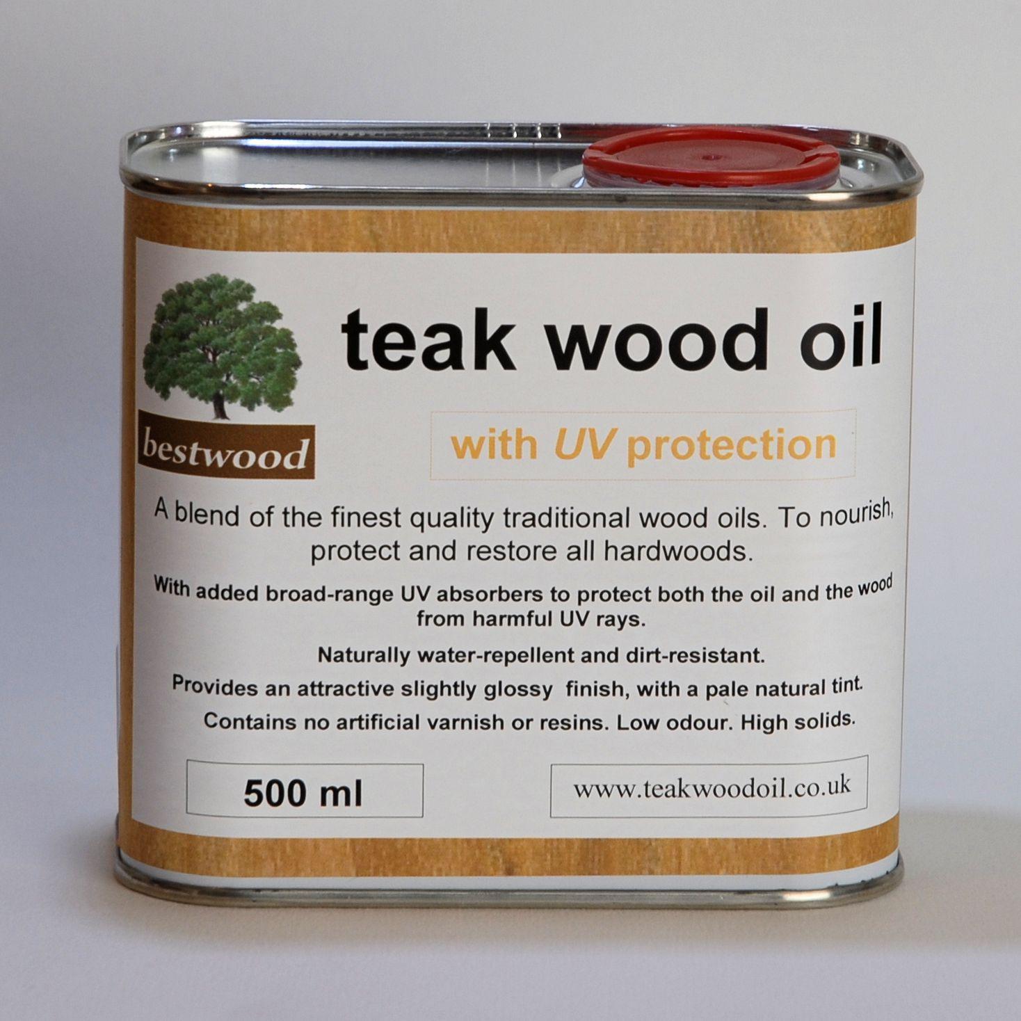 Bestwood Teak Wood Oil, UV, 500ml