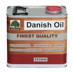 danish oil 2.5L