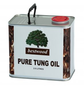 tung oil 2.5L can