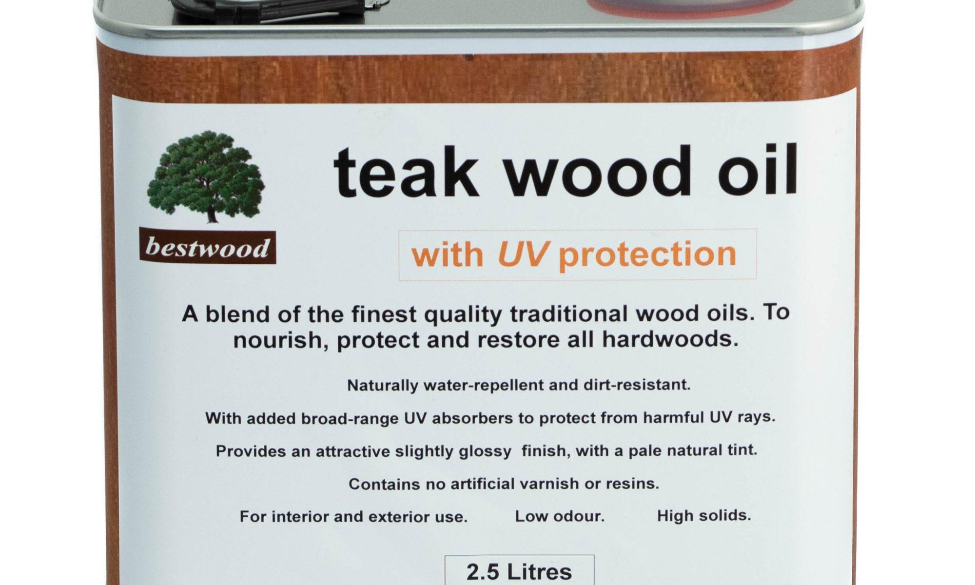 teak oil 2.5L