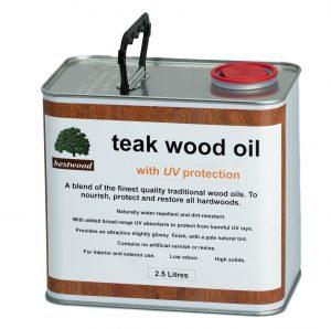 teak oil 2.5L can