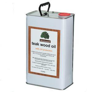 teak oil 5L can