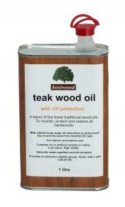 teak oil 1L can