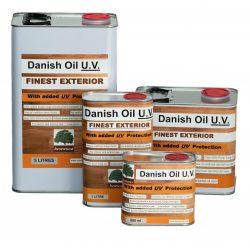 Danish Oil UV Exterior